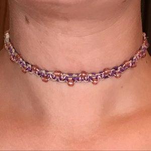 Jewelry - Hand Braided Reversible Hemp Choker